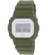 Casio Men's G-Shock DW5600M-3 Olive Rubber Quartz Watch - Main Image Swatch