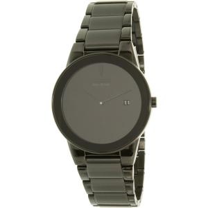 Citizen Men's Eco-Drive AU1065-58E Black Stainless-Steel Eco-Drive Watch