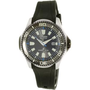 Citizen Men's Eco-Drive BN0085-01E Black Rubber Eco-Drive Watch