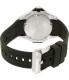 Citizen Men's Eco-Drive BN0085-01E Black Rubber Eco-Drive Watch - Back Image Swatch