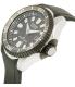 Citizen Men's Eco-Drive BN0085-01E Black Rubber Eco-Drive Watch - Side Image Swatch