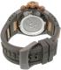 Invicta Men's Subaqua 17209 Bronze Rubber Swiss Chronograph Watch - Back Image Swatch