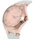 Invicta Women's Wildflower 21757 Rose Gold Leather Swiss Quartz Watch - Side Image Swatch
