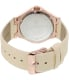 Invicta Women's Wildflower 21761 Rose Gold Leather Quartz Watch - Back Image Swatch