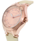 Invicta Women's Wildflower 21761 Rose Gold Leather Quartz Watch - Side Image Swatch