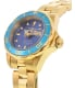 Invicta Women's Pro Diver INV-21536 Gold Stainless-Steel Swiss Quartz Watch - Side Image Swatch