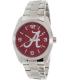 Gametime Men's Elite Alabama Crimson Tide COL-ELI-ALA2 Silver Stainless-Steel Quartz Watch - Main Image Swatch