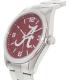 Gametime Men's Elite Alabama Crimson Tide COL-ELI-ALA2 Silver Stainless-Steel Quartz Watch - Side Image Swatch