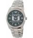 Gametime Men's Elite Miami Hurricanes COL-ELI-MIA Silver Stainless-Steel Quartz Watch - Main Image Swatch