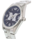 Gametime Men's Elite Michigan Wolverines COL-ELI-MIC Silver Stainless-Steel Quartz Watch - Side Image Swatch