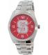 Gametime Men's Elite North Carolina State Wolfpack COL-ELI-NCS Silver Stainless-Steel Quartz Watch - Main Image Swatch