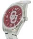 Gametime Men's Elite Oklahoma Sooners COL-ELI-OK Silver Stainless-Steel Quartz Watch - Side Image Swatch
