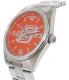 Gametime Men's Elite Oklahoma State Cowboys COL-ELI-OKS Silver Stainless-Steel Quartz Watch - Side Image Swatch