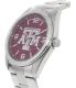 Gametime Men's Elite Texas A&M Aggies COL-ELI-TXA Silver Stainless-Steel Quartz Watch - Side Image Swatch