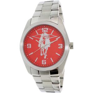 Gametime Men's Elite Texas Tech Red Raiders COL-ELI-TXT Silver Stainless-Steel Quartz Watch
