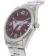 Gametime Men's Elite Virginia Tech Hokies COL-ELI-VAT Silver Stainless-Steel Quartz Watch - Side Image Swatch