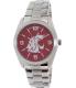 Gametime Men's Elite Washington State Cougars COL-ELI-WSU Silver Stainless-Steel Quartz Watch - Main Image Swatch