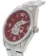 Gametime Men's Elite Washington State Cougars COL-ELI-WSU Silver Stainless-Steel Quartz Watch - Side Image Swatch