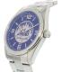 Gametime Men's Elite New York Mets MLB-ELI-NYM Silver Stainless-Steel Quartz Watch - Side Image Swatch