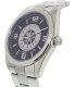 Gametime Men's Elite Seattle Mariners MLB-ELI-SEA Silver Stainless-Steel Quartz Watch - Side Image Swatch