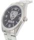Gametime Men's Elite Brooklyn Nets NBA-ELI-BK Silver Stainless-Steel Quartz Watch - Side Image Swatch