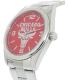 Gametime Men's Elite Chicago Bulls NBA-ELI-CHI Silver Stainless-Steel Quartz Watch - Side Image Swatch