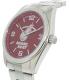 Gametime Men's Elite Miami Heat NBA-ELI-MIA Silver Stainless-Steel Quartz Watch - Side Image Swatch
