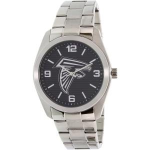 Gametime Men's Elite Atlanta Falcons NFL-ELI-ATL Silver Stainless-Steel Quartz Watch