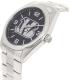 Gametime Men's Elite Cincinnati Bengals NFL-ELI-CIN Silver Stainless-Steel Quartz Watch - Side Image Swatch