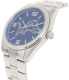 Gametime Men's Elite Detroit Lions NFL-ELI-DET Silver Stainless-Steel Quartz Watch - Side Image Swatch
