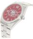 Gametime Men's Elite San Francisco 49ers NFL-ELI-SF Silver Stainless-Steel Quartz Watch - Side Image Swatch