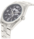 Gametime Men's Elite Pittsburgh Penguins NHL-ELI-PIT Silver Stainless-Steel Quartz Watch - Side Image Swatch