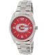 Gametime Men's Elite Georgia Bulldogs COL-ELI-GEO Silver Stainless-Steel Quartz Watch - Main Image Swatch