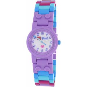 Lego Girl's Friends 8020165 Purple Plastic Quartz Watch