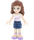 Lego Girl's Friends 8020165 Purple Plastic Quartz Watch - V4 Image Swatch
