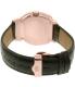 Bulova Men's Accutron Ii 97A122 Black Leather Quartz Watch - Back Image Swatch