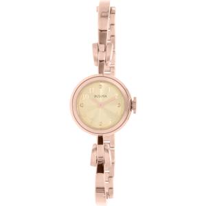 Bulova Women's Classic 97L156 Rose Gold Stainless-Steel Quartz Watch