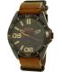 Hugo Boss Men's Orange 1513316 Brown Leather Quartz Watch - Main Image Swatch