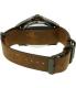 Hugo Boss Men's Orange 1513316 Brown Leather Quartz Watch - Back Image Swatch