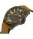 Hugo Boss Men's Orange 1513316 Brown Leather Quartz Watch - Side Image Swatch