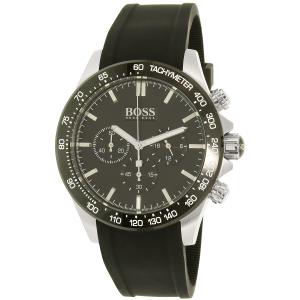 Hugo Boss Men's 1513341 Black Rubber Quartz Watch