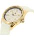 Tommy Hilfiger Women's Lizzie 1781636 White Rubber Quartz Watch - Side Image Swatch