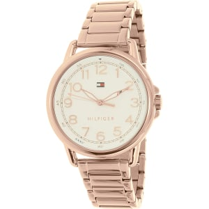 Tommy Hilfiger Women's Casey 1781657 Rose Gold Stainless-Steel Quartz Watch