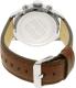 Tommy Hilfiger Men's Sport 1791137 Brown Leather Quartz Watch - Back Image Swatch