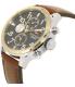 Tommy Hilfiger Men's Sport 1791137 Brown Leather Quartz Watch - Side Image Swatch