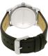 Lacoste Men's Metro 2010847 Black Leather Quartz Watch - Back Image Swatch