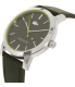 Lacoste Men's Metro 2010847 Black Leather Quartz Watch - Side Image Swatch