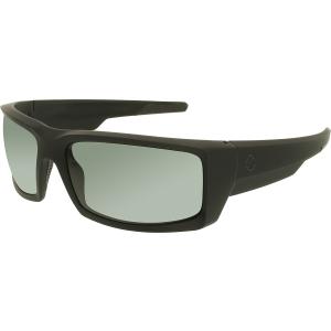 Spy Men's Polarized General 673118973864 Black Wrap Sunglasses