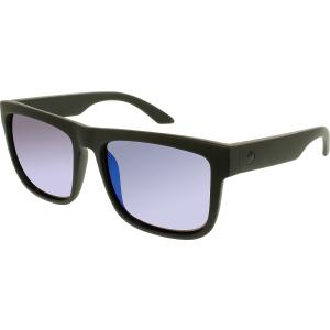 Spy Men's Polarized Discord 673119374280 Black Square Sunglasses