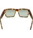 Spy Men's Cyrus 673180438863 Brown Square Sunglasses - Back Image Swatch